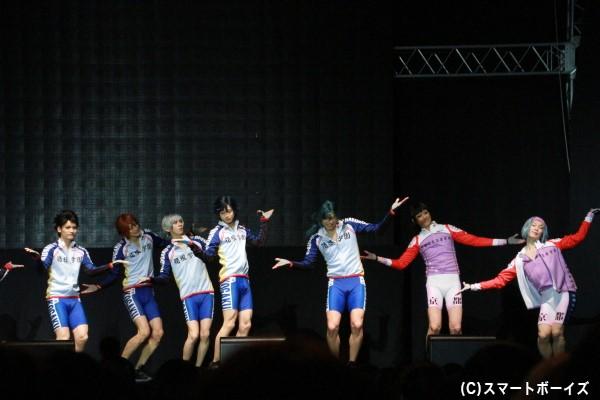 「ヒメのくるくる片思い」生披露(箱根学園&京都伏見篇) 天羽さんの踊りはキレッキレ!