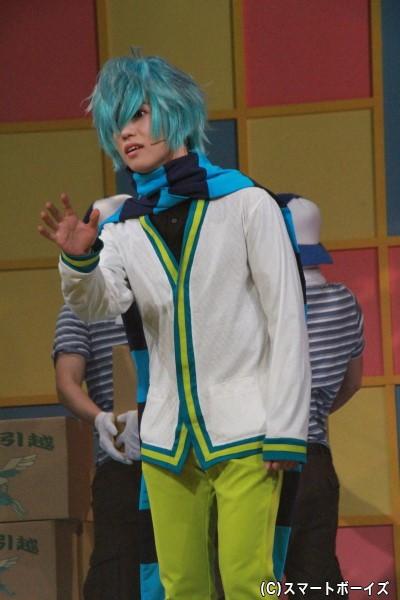 ゆうたろうさん演じる篠原耕太は、内気な性格で夏歩に想いを寄せている