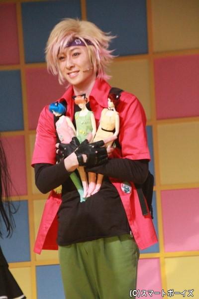 田中涼星さん演じる長澤嵐は、フィギュアをこよなく愛するオタク