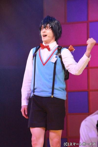 神里優希さん演じる三宮銀次郎も、奏や十六と同じ小学5年生で幼なじみ