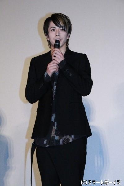 紅伊玲二役の廣瀬智紀さんは主題歌も担当!