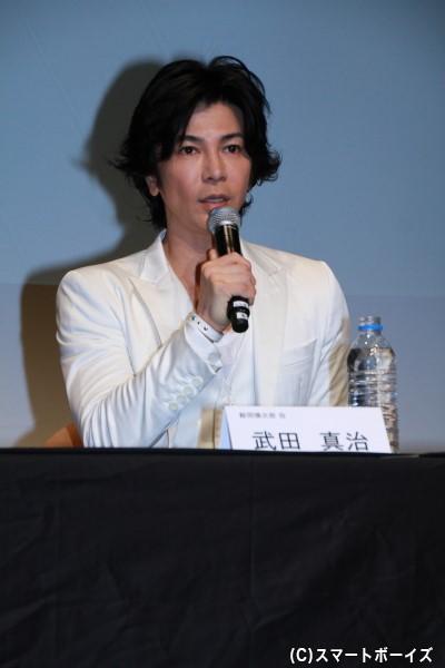 武田さん演じる鯨岡は、悪どい商売で莫大な資産を築いた不動産王