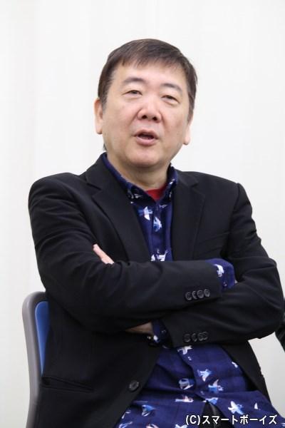 脚本・演出の鴻上尚史さん