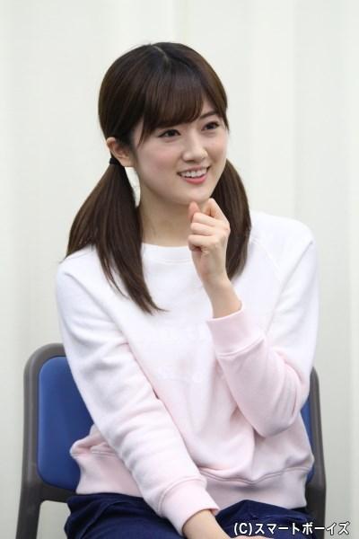 しずかちゃん役の樋口日奈さん(乃木坂46)