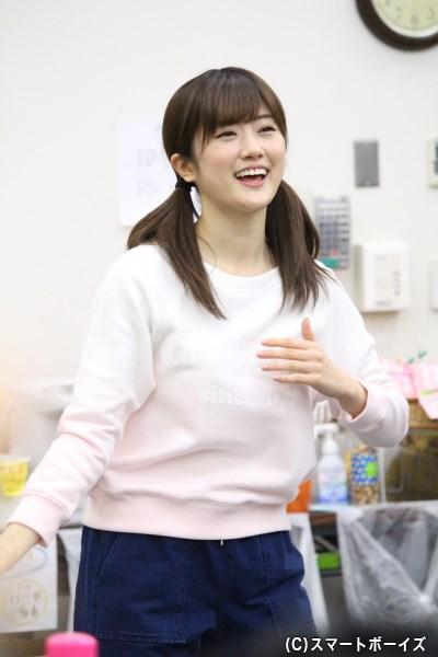 しずかちゃん役の樋口日奈さん