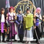 (写真左より)財木琢磨さん、spiさん、荒木宏文さん、崎山つばささん、太田基裕さん、横田龍儀さん