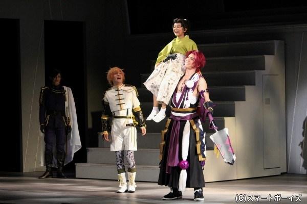 徳川家康の家臣を名乗り、まだ幼い彼を支える決意をする
