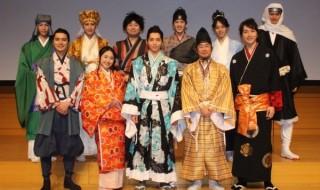 (写真前列左より)山本匠馬さん、加藤梨里香さん、染谷俊之さん、山崎樹範さん、細貝圭さん(写真後列左より)奥谷知弘さん、井深克彦さん、石井智也さん、白又敦さん、杉江大志さん、寿里さん