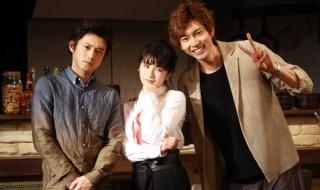 元女子アナ・ミナミ(写真中央・皆本麻帆さん)も加わり、欲まみれの3人が集結