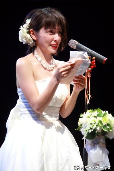 華は感動の手紙を読み上げ、結婚式で主役になれるのか