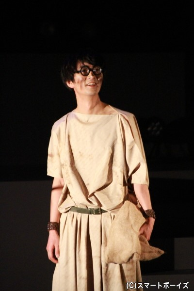 アドラ役の小林且弥さん
