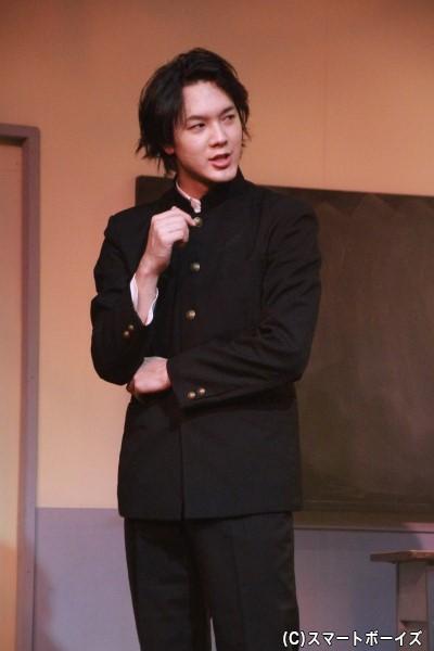友則役の山沖勇輝さん