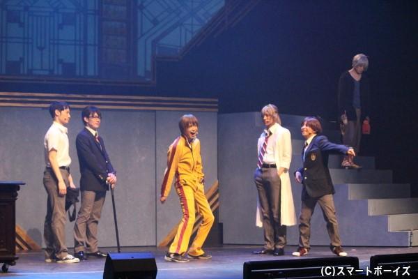 それぞれの特技を生かし、事件に立ち向かう少年探偵団メンバーの活躍に注目!