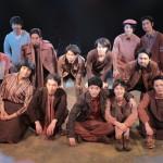 千穐楽を終え達成感あふれる劇団Patchのメンバーたち