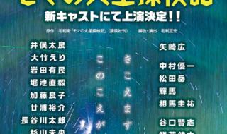【モマの火星探検記】出演者決定発表リリース コピー