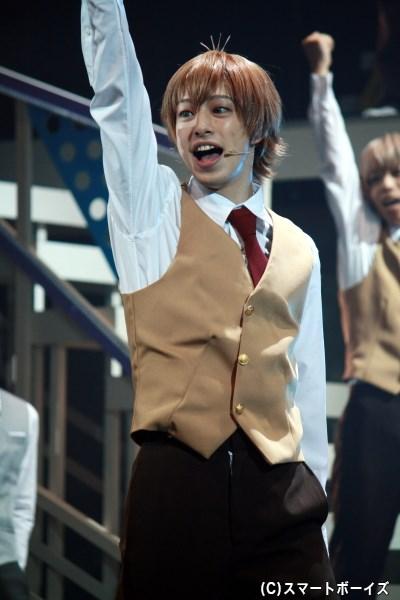 星谷悠太(杉江大志さん)は、ある生徒に憧れて名門・綾薙学園へ!