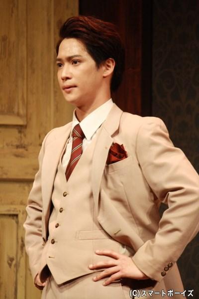 劇団新メンバーの大宮貫二(味方良介さん)は、劇中公演では豪徳寺役に