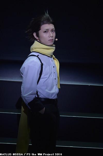 望月綾時役の植田圭輔さん