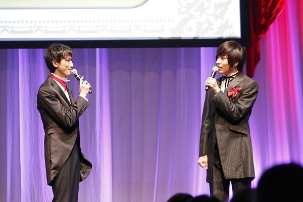 新人声優として一歩を踏み出した廣瀬さんと、先輩として皆さんを優しく見守る蒼井さん