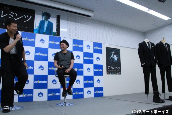 今回のイベントでは、田中さんが着用した衣装も公開!