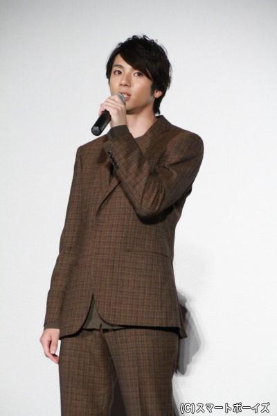 美笠天智役の山田裕貴さん