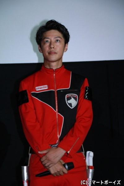デカレッド/赤座伴番役のさいねい龍二さん