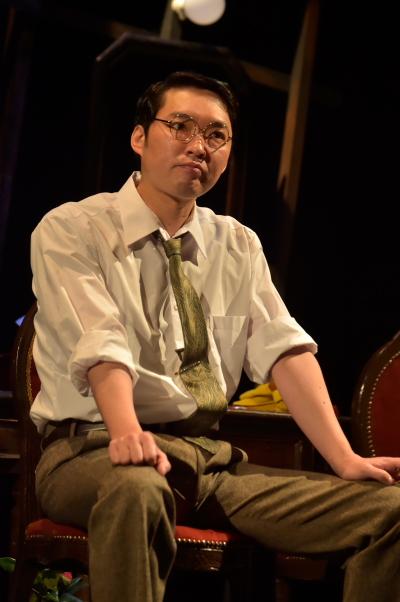 今立 進さん演じる平岡常次郎