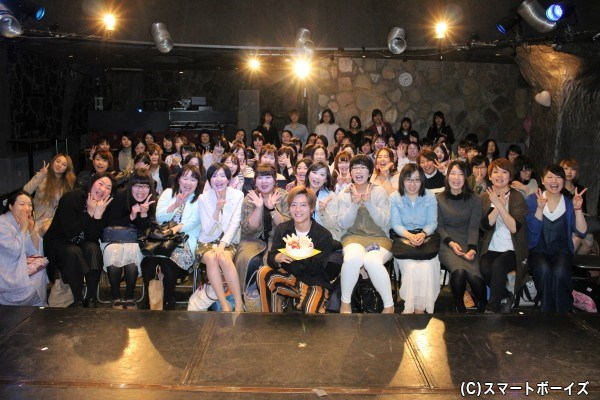参加者&山口さんソロバージョンの集合写真はコチラ!