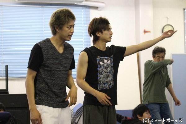 中村さんと井上さんも積極的に意見を交換