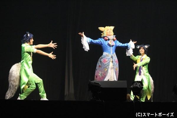 キラッキラの夢銀河アイドルバンド《トライクロニカ》