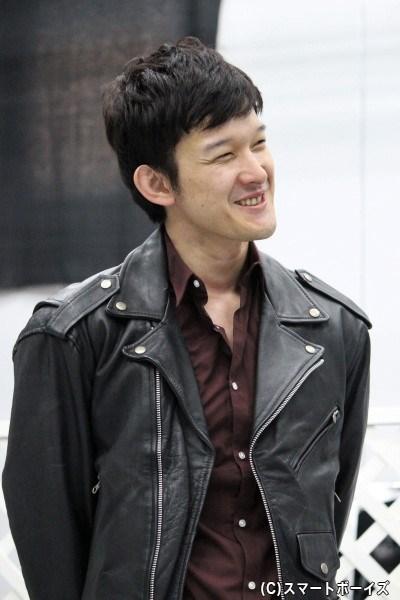 武蔵坊弁慶(むさしぼうべんけい)役の伊藤陽佑さん