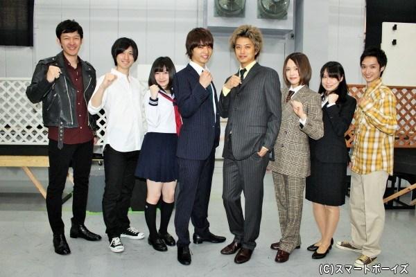 初共演キャストが多い中、チームワークはバッチリ☆