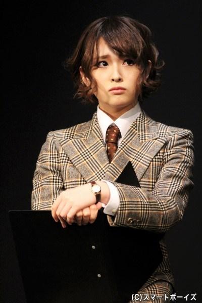 抜刀課メンバー・兎茶護(うさ まもり)役の星元裕月さん