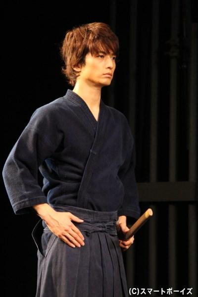 剣道着姿も素敵です♡