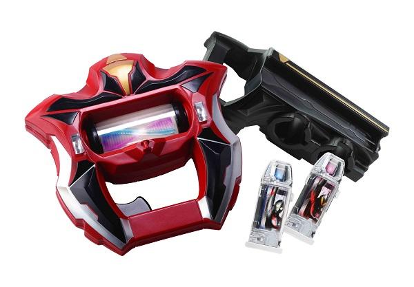 変身アイテム「ジードライザー」と「ウルトラカプセル」