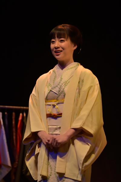 帆風成海さん演じる平岡三千代