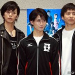 (左から)廣瀬智紀さん、松田凌さん、宮崎秋人さん