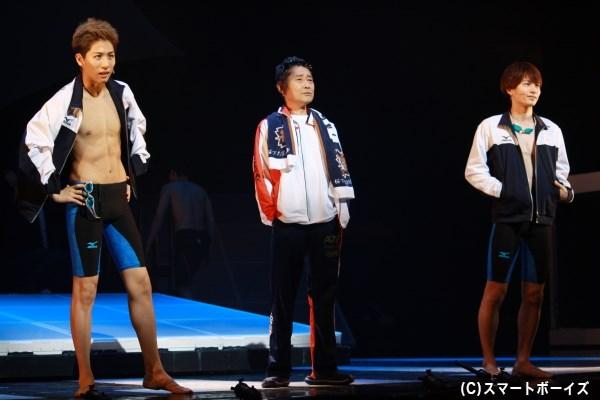天才児である一虎(左・池岡亮介さん)など、各キャラクターの苦悩や努力の姿も