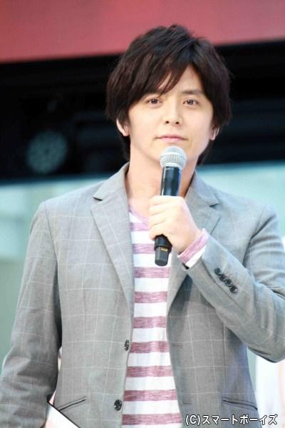 今作への出演も発表に、イベントMCを務めた田中 精さん