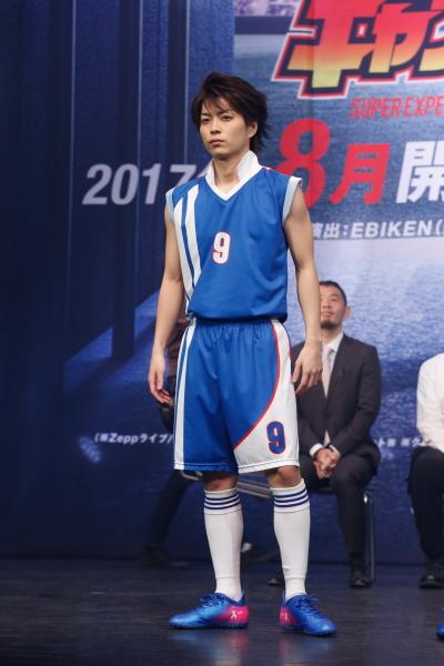 日向小次郎役の松井勇歩さん