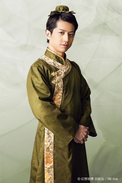 薬剤店主:王琳(オウリン)役 反橋宗一郎さん