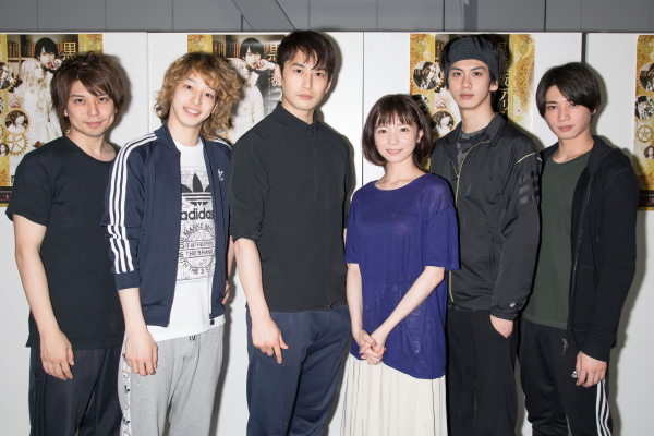 (左から)柏木佑介さん、杉江大志さん、石黒英雄さん、入来茉里さん、秋元龍太朗さん、野嵜豊さん