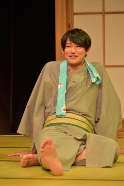 初日公演の日替わりゲスト・寿里さん演じる寺尾