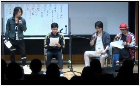 ミスター朗読男子・滝口さんを中心に、ファンのアンケート結果から出来上がった朗読劇は、爆笑の連続!