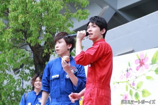 大矢さんと太田さんのレジェンドコンビは、食レポでもレジェンドぶりを発揮!?