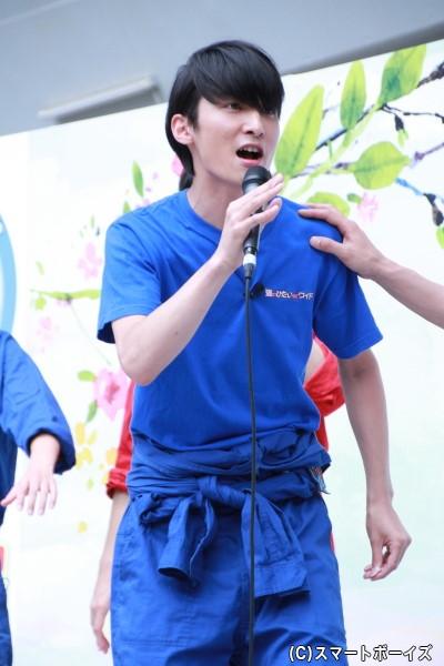 「猫の手も借り隊」木曜ブルーの竹内寿さん