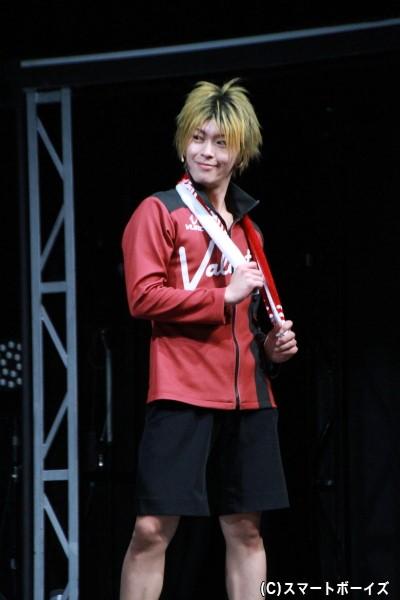 黛遊馬役の田中尚輝さん