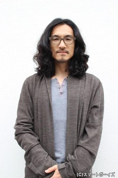 """""""弥次さん""""こと弥次郎兵衛役の唐橋 充さん"""