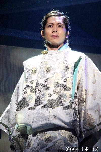 足利義輝役の染谷俊之さん