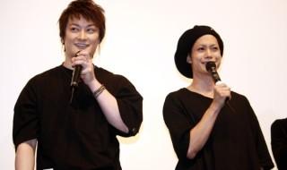 中村さんと玉城さんは、舞台挨拶中も息の合った掛け合いで会場を沸かせます